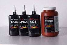 Impact Resistant Excellent Flexibility UV Cure Acrylic Adhesive/Glue