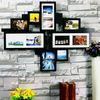 8P photo frame collage for picture and photo - Large wall decor economic material