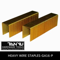 Manufacturing! Pneumatic staples of all sizes Carton fastening nails c ring staples