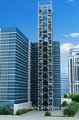 Los niveles 8-25 torre de estacionamiento del coche del coche de la pila de aparcamiento garaje de la máquina de ahorro de espacio de aparcamiento de coches vertical de almacenamiento de aparcamiento de coches solución