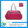 Promoional waterproof nylon foldable tote bag travel bag