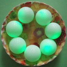 Fluorescent golf ball