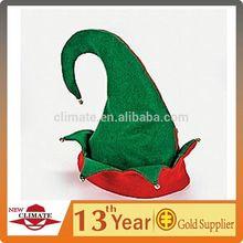 2014FELT ELF HAT /BELLS PARTY ACCESSORY/CHRISTMAS HATS