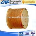 De vidrio- de fibra de cobre alambre magnético de fabricación