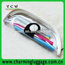 clear pvc plastic pencil case
