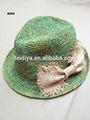 Mode hochwertige bast häkeln cowboyhüte/Kappen für Teil