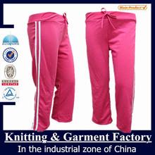 custom jogger pants / quick dry pants / 100% polyester sweat pants