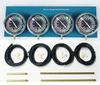 Universal 4-Carb Motorcycle Carburetor Synchronizer Set kit