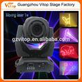 1 w cabeza móvil luces laser de la animación