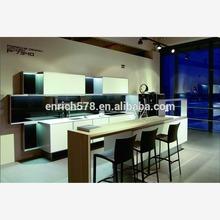 Artificial beech pvc kitchen design