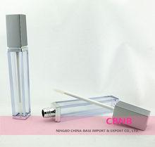 6.5ml Empty Square Lip Gloss case With Matte Cap