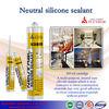 granite polymer Silicone Sealant/ rebar adhesive silicone sealant supplier/ silicone anti-mildew sealant