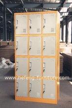 Outdoor Furniture 12 Door Steel Locker JF-3B4A