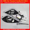 Hot Selling LED DRL for Toyota Corolla 2014 EX Daytime Running Lights