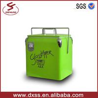 13qt metal case 6 bottle wine carrier for cars