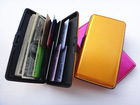 NEW hard Aluminum Wallet Men Women Credit Card Holder Case 8 different colours