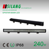 High power 240W 42'' auto led working light bar for trucks with combo light beam