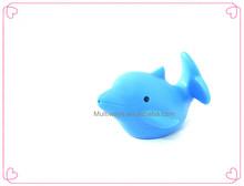 High quality vinyl sea animal baby bath toy dolphin bath toy