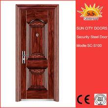 steel metal french doors manufacturers hollow metal accordion doors SC-S100