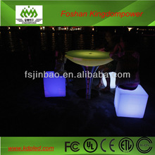 Rechargeable glowing beautiful furniture