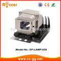 Compitable oem reemplazo de la lámpara del proyector infocus sp- de la lámpara- 039/splamp039
