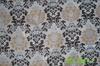 Decorative linen fabric polyester linen blended fabric blended fabric print fabric silver print fabric
