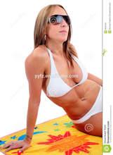 cartoon beach towel kids hooded beach towels/poncho funky beach