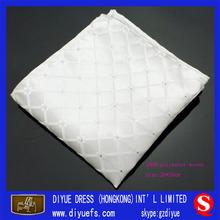 Wholesale white handkerchiefs / polyester/ Africa marketing