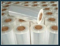 china pof shrink soft thin plastic film for food packing