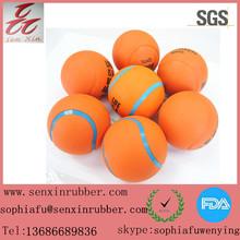 Fashion Orange/Colored/Cheap Rubber Tennis balls with logo wholesale