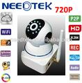 2014 caliente vender p2p de infrarrojos de alta definición al aire libre ptz inalámbrica 720p fácil de instalar p2p ip de la cámara