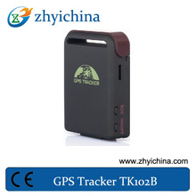 Gps tracker special for car/gprs k102 with Location memorization made by shenzhen manufacturer