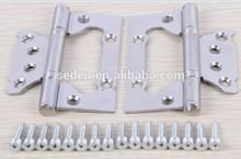 Steel door hardware hinge Stainless steel flush hinge for aluminium door