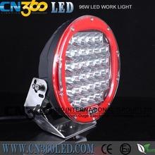 42PCS 3w ROUND Black,White 96W best LED WORK LIGHT SPOT BEAM OFFROAD DRIVING LIGHTS 12V 24V 4WD