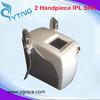 High Tech portable 2 shr handpiece painless hair removal ipl equipment