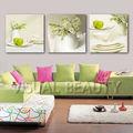 chegada nova moda 3 combinação de painéis de parede da arte de pintura em uv impressões