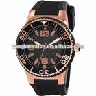 Geneva wrist waterproof watch silicone unisex