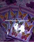 3D Cat eye Butterfly popular wall sticker home decor
