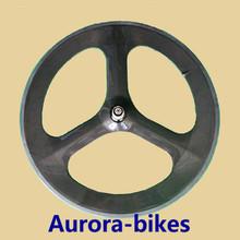 Carbon tri spoke wheels 700c,3 wheel bicycle,carbon tri-spoke wheel