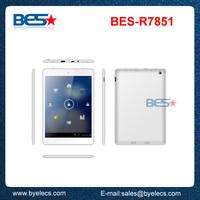 Verified factory OEM rockchip3026 dual core 7.85 inch wintouch tablet q75
