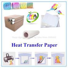 White Paper Material textile application 80gsm&100gsm inkjet sublimation paper manufacturer