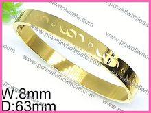 Half Round Design Women Fashion Jewelry hot sale white jade bangle bracelet