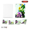 women fashion 4 folio leather case for ipad tablet pc made in China