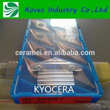 KYOCERA CNC TOOL, VBGT160402R RAW MATERIAL CNC TOOL INSERT,CNC turning tool insert
