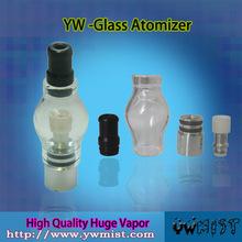 mist snow glass globe vaporizer pen for wax dry herb vaporizer atomizer
