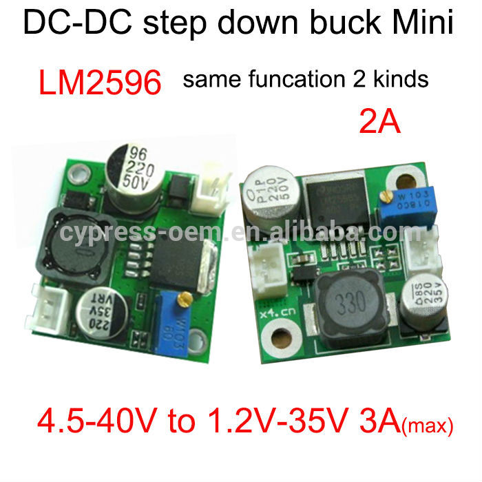 (DC-DC step down converter) 40V to 12V module change voltage from 24V to 5V or 35V to 24V stabilize output voltage make it lower