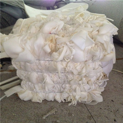 High density chemical raw material waste recycling