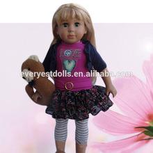 2015 American girl doll wigs doll/american girl doll factory/journey girl doll