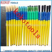 Bristles,nylon wire hair plastic handle ferrule brush pen