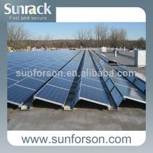 Aluminum solar panel mount system 100 KW